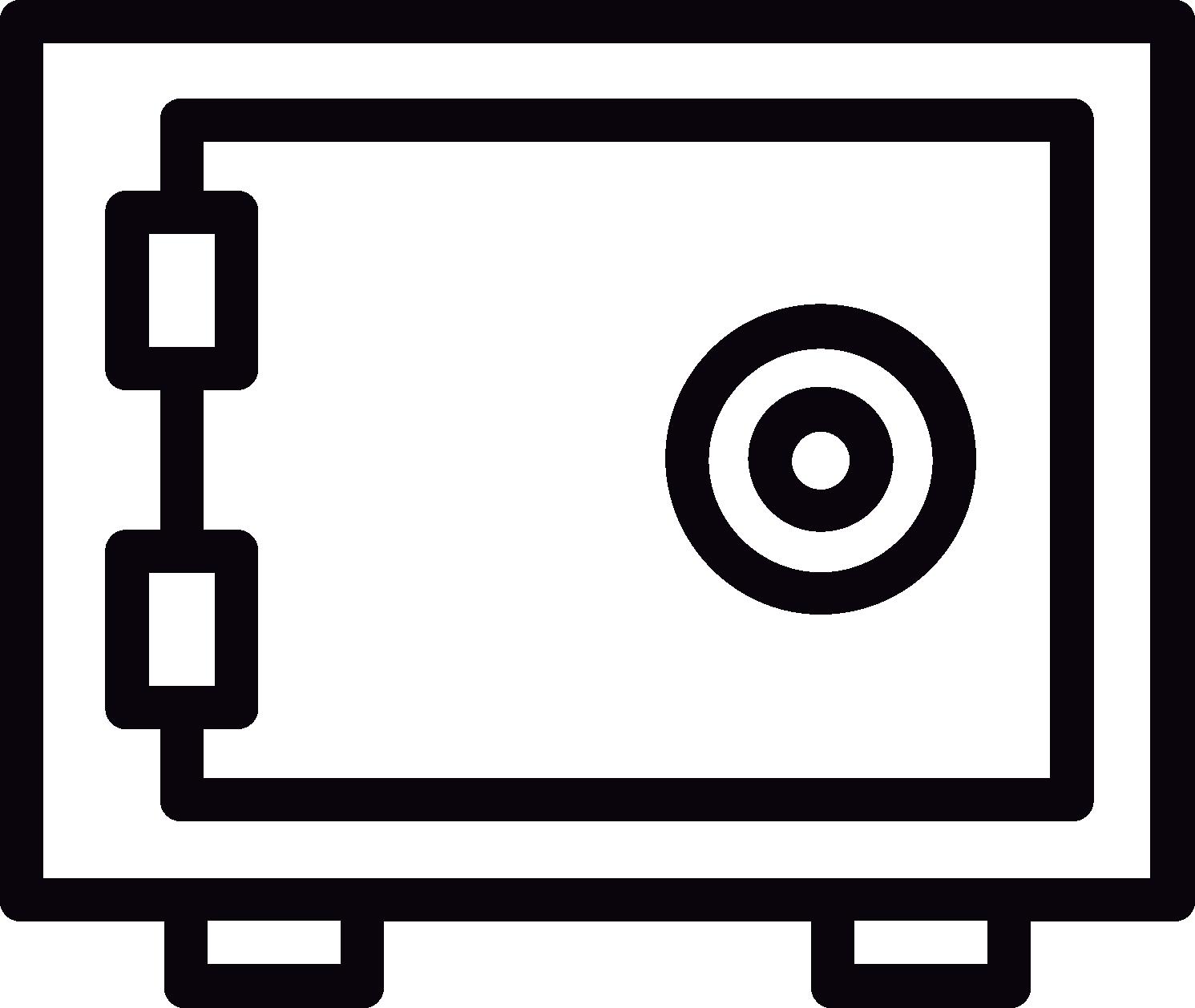 icona cassaforte